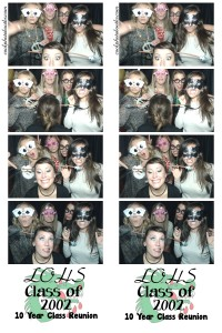 Photo booth rental Lake Orion Class Reunion