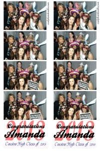 Graduation parties Photo Booth