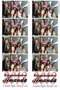 Graduation parties Photo Booth