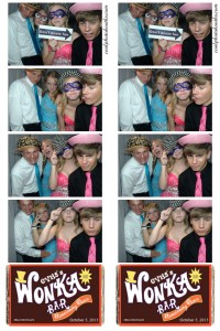 homecoming photo booth